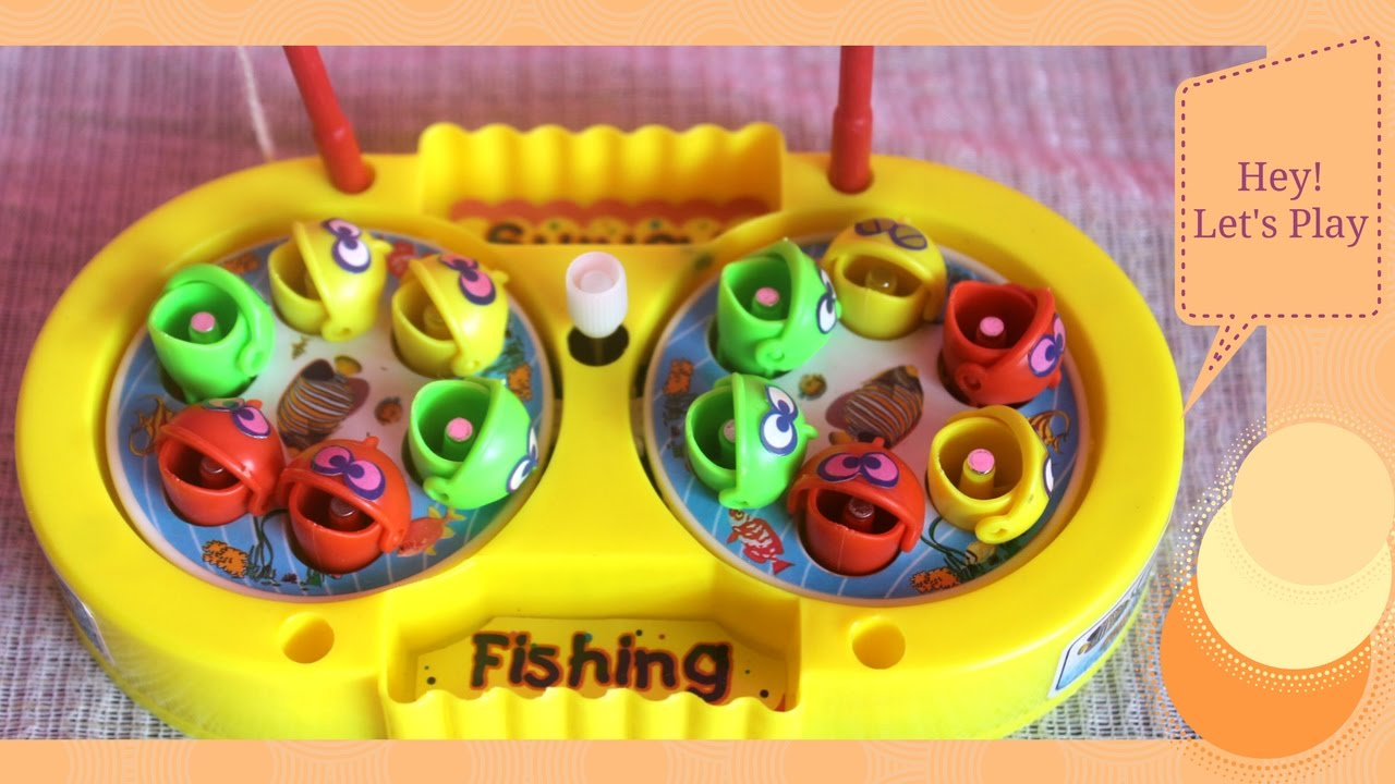Fishing games for kids to play - Fishing Toys Game Colorful Fishes Catching Toy Magnet Kids Play Fun Lets Go Fishing Game Family
