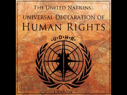 Universal Declaration of Human Rights, Volume 01 by UNITED NATIONS read by Various | Full Audio Book