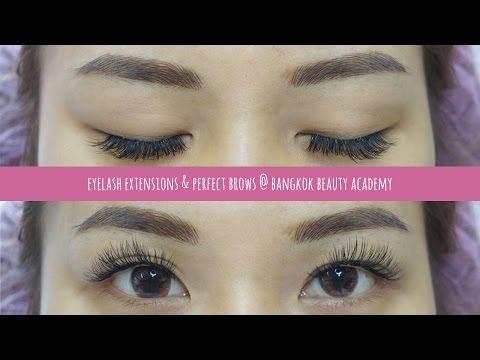 Eyelash Extensions & Perfect Brows @ Bangkok Beauty Academy