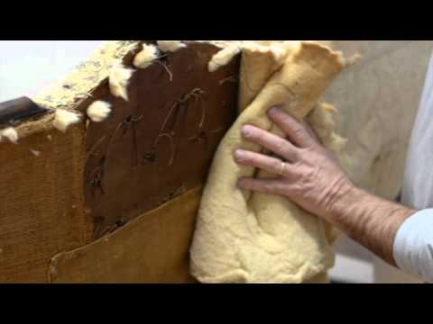 American Victorian Sofa: Stripping & Measuring for Fabric