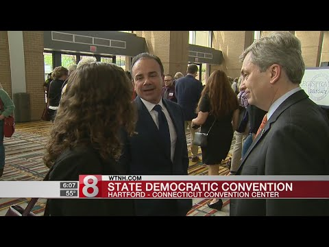 Dems Convention: Gov. race down to Lamont and Ganim
