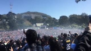 4:20 PM on 4/20/2017 in San Francisco's Hippie Hill