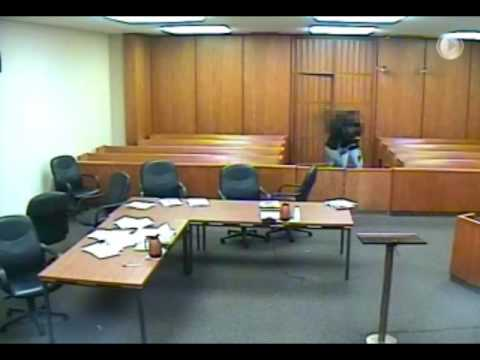Video and audio of Berrien County Courthouse shooting - July 11, 2016
