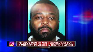 Michigan man accused of double murder added to FBI's 'Ten Most Wanted' list