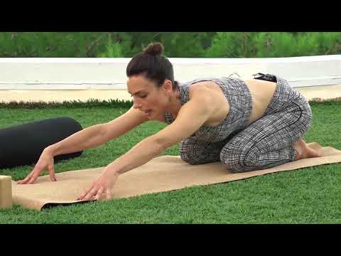 Yoga For Better Posture by Yoga Teacher Sybille Gebhardt - Asquith