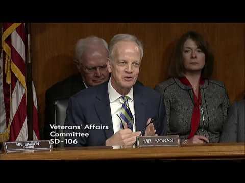 Sen. Moran Questions Dr. David Shulkin, Nominee...