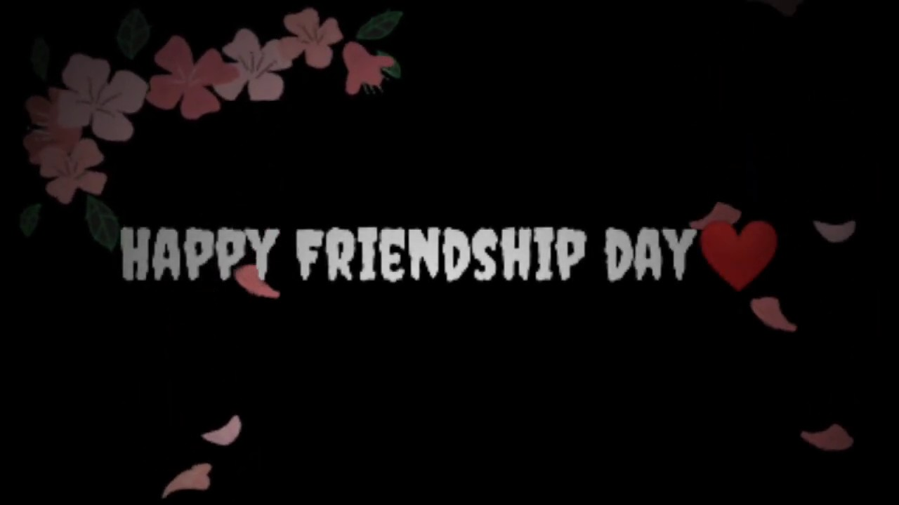 Happy Friendship Day Green Screen Video | Green Screen Video for Friends