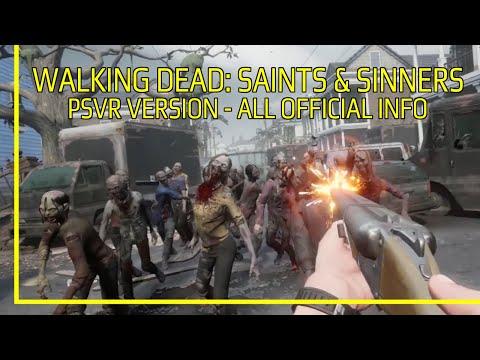 The Walking Dead Saints u0026 Sinners All Official PSVR Info