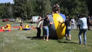 Корпоративный отдых Event2go в Курске(Гигантский мяч., 2014-06-27T13:51:19.000Z)