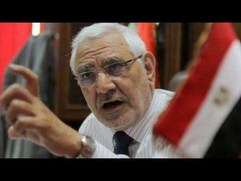اعتقال عبد المنعم أبو الفتوح المرشح الإسلامي السابق للانتخابات الرئاسية 2012  - 11:23-2018 / 2 / 15