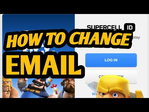✓Proof How To Change Supercell I'd Email ||Clash Of Clans