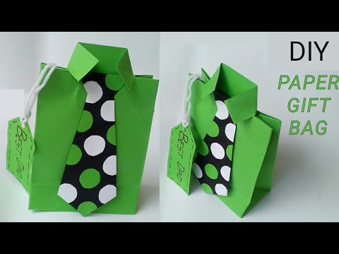Diy paper crafts ideas |Diy paper gift bag ideas for boyfriend husband dad him|How to make gift bags