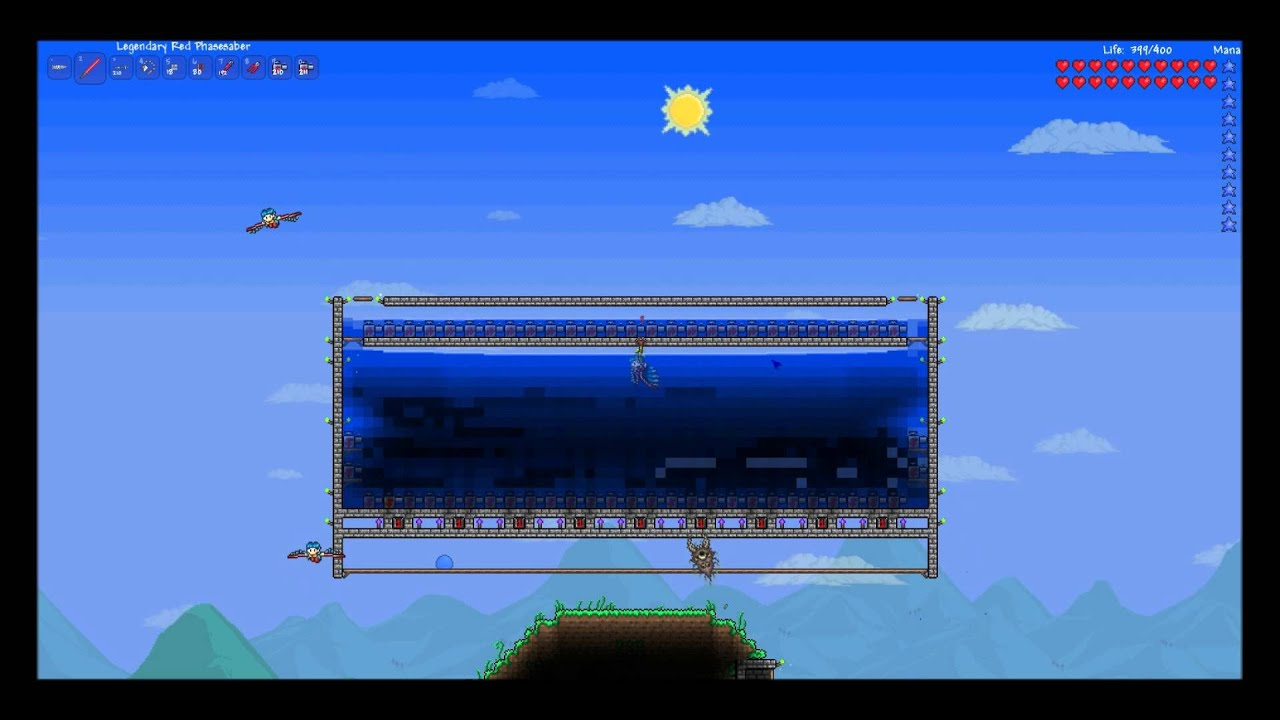 Terraria infinite water generator youtube malvernweather Gallery