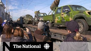 The Russian train carrying Syrian war trophies   Dispatch