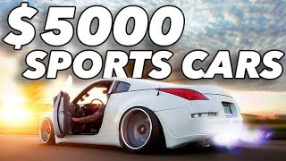 Top 10 Cars - Top 10 Sports Cars Under $5000