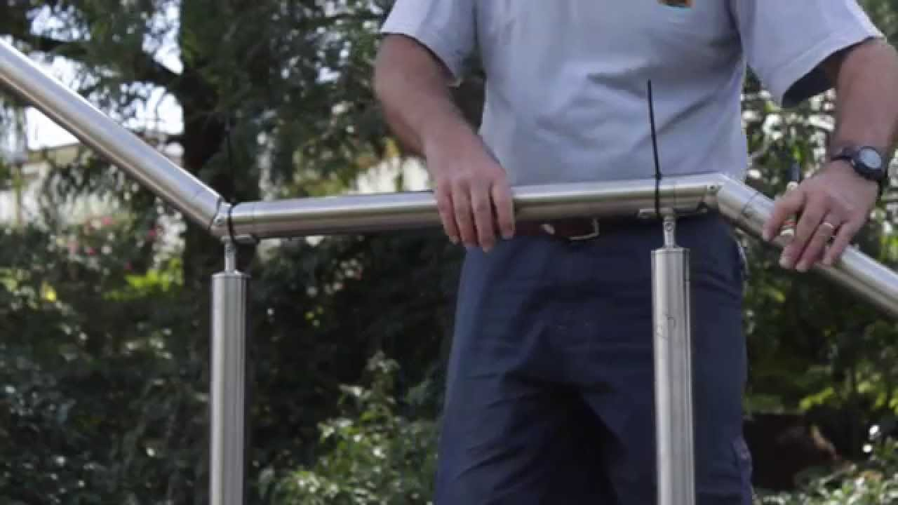 How To Install Stainless Steel Stair Handrails Diy Professional | Stainless Steel For Stairs | Contemporary | Modern | Outdoor | Home | Balustrade