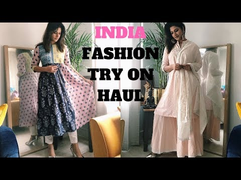 INDIAN FASHION  - W FOR WOMAN SPRING SUMMER COLLECTION , AMAZON INDIA,BUNAAI HAUL| KERALA VISHU 2019
