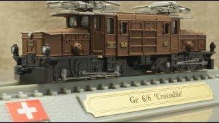 模型 レーティッシュ鉄道Ge6/6 I形電気機関車 1/160 Nゲージ