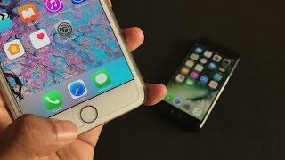 ស្កេនក្រយៅដៃដើម្បីដោះសោរអេក្រង់លើ iPhone, iOS 10 ដោយមិនបាច់សង្កត់ TouchID | Camtoptec TouchID