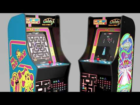 Arcade1Up Ms Pac Man Legacy 12 Game Cabinet Arcade 1Up from rarecoolitems