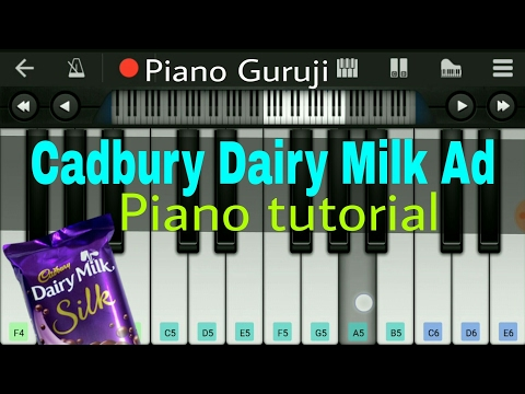 Cadbury Dairy milk (ad tune) | Piano...