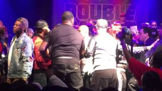 tay roc and k shine fight at double impact