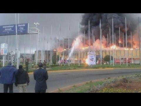 Kenya airport fire: Blaze engulfs main Nairobi airport