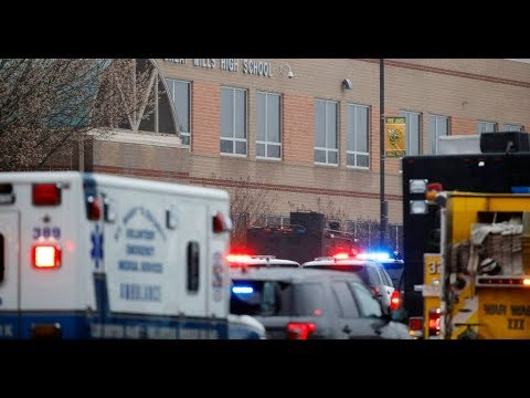 School Shooting In Maryland: Resource Police Officer Responds In Less Than A Minute!
