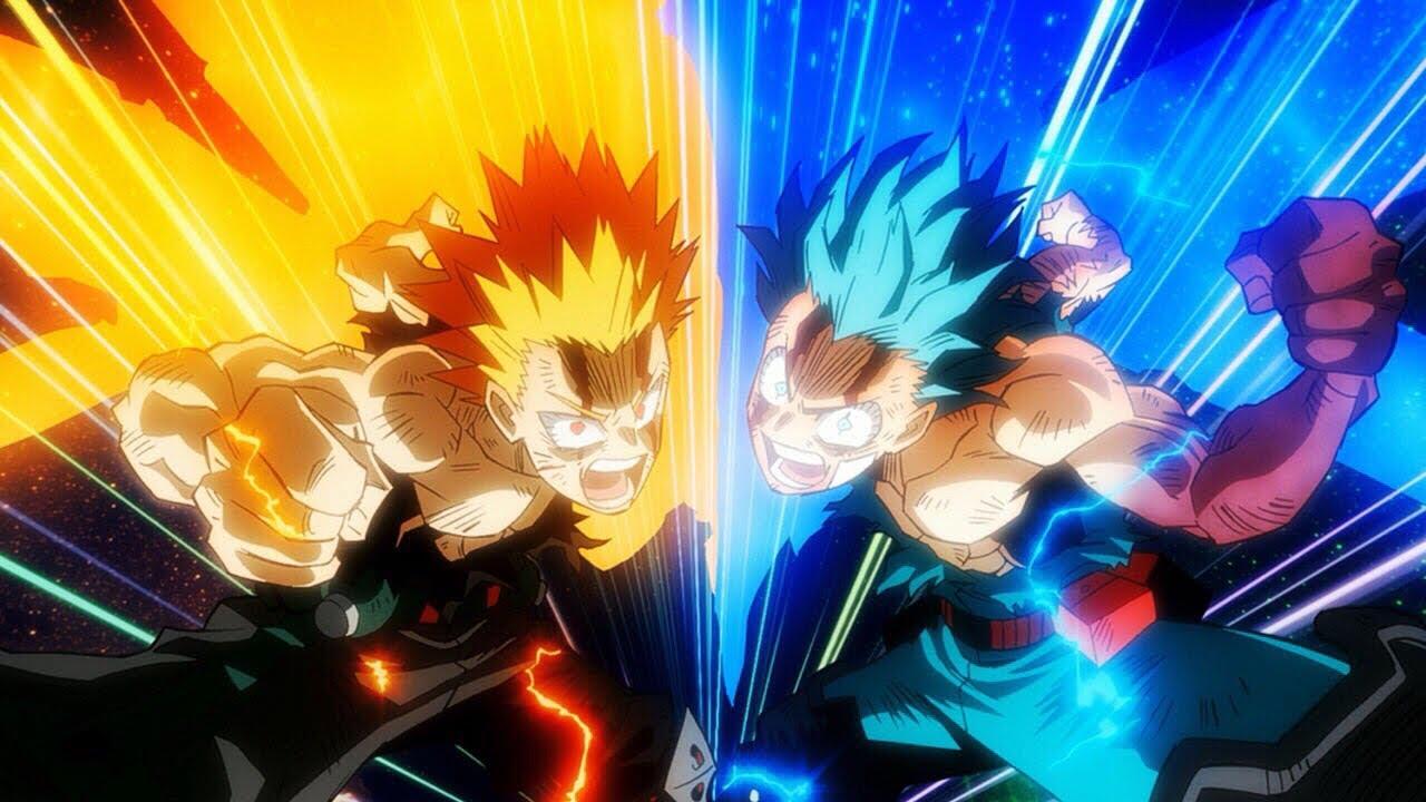 My Hero Academia : Heroes Rising (Movie) - Power Levels ...