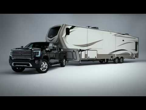 2020 GMC Sierra Heavy Duty Has 15 Cameras That Let You See Through Its Trailer