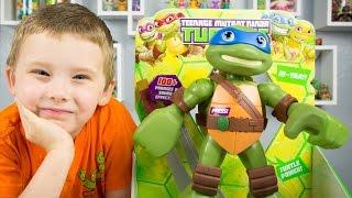 Teenage Mutant Ninja Turtles Mega Mutant Leonardo Pre-Cool Half Shell Heroes Toys