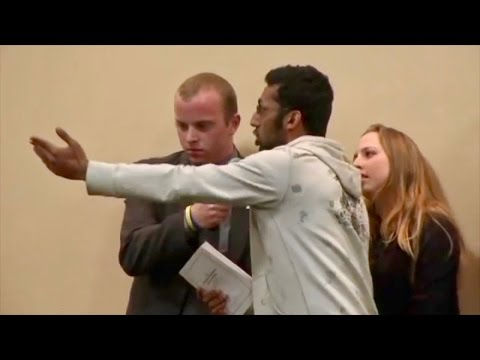 David Horowitz Drills Through Obnoxious, Arrogant, Dishonest Muslim Students In Firey Debate