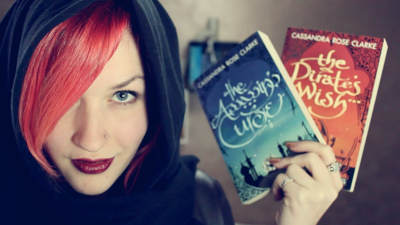 The Assassin's Curse + The Pirate's Wish By Cassandra Rose Clarke  Book  Review