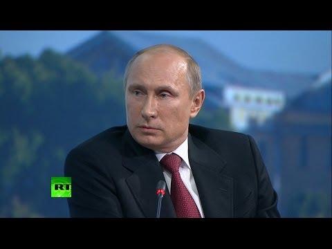 Путин: Санкции вводятся