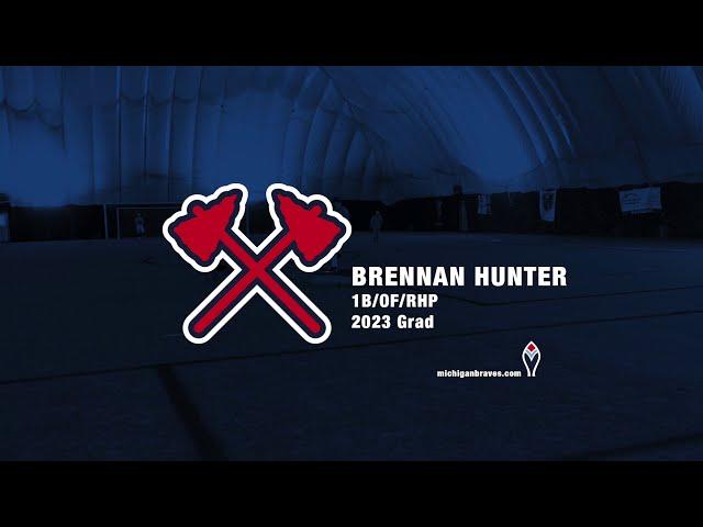 Michigan Braves Showcase Brennan Hunter