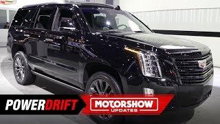 2019 Cadillac Escalade Sport : Brawny, bold and all-black : 2018 LA Auto Show : PowerDrift
