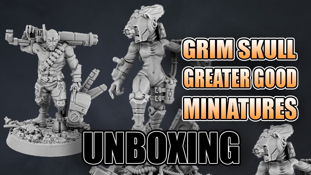 New Tau Greater Good Grimskull Miniatures Review