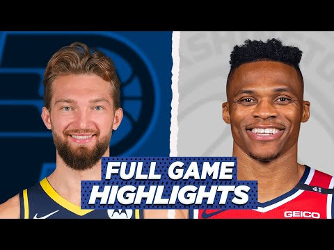PACERS vs WASHINGTON WIZARDS FULL GAME HIGHLIGHTS | 2021 NBA SEASON