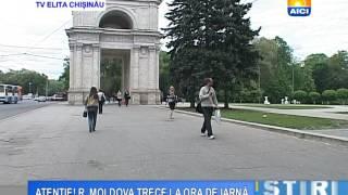 AICI CHISINAU ATENȚIE! R  MOLDOVA TRECE LA ORA DE IARNĂ 23 10 2015