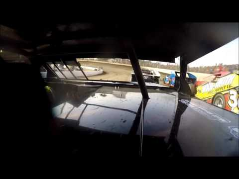 GoPro In-Car Camera with the #42 of Clint Young at I-55 Raceway Heat Race 7/30/16
