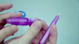 Let me show you how Invisible Ink Pen works!
