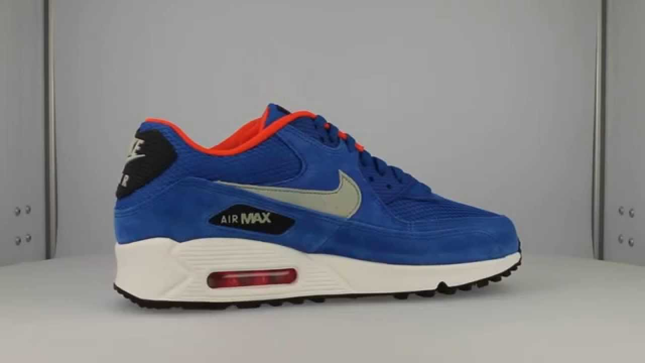 nike air max 90 essential (dark electric blue/light stone)