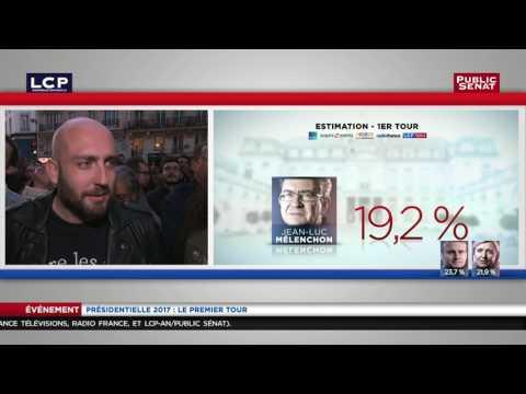 Un militant de Jean-Luc Mélenchon : « le chantage au FN est difficile à avaler. »