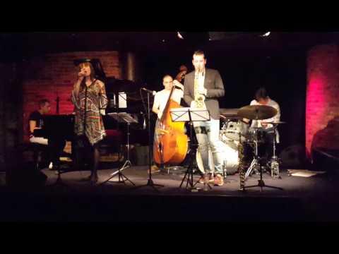Anna Valiulina- vocal, Jan Grinbert - saxophone, Konstantin Kostov, Giorgi Makhoshvili
