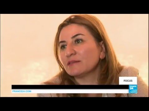 Video: Iraqi woman rescues Yazidi sex slaves from IS group