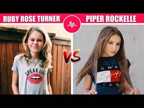 ruby-rose-turner-vs-piper-rockelle-(-tv-actress-battle-with-muser-)-musically-compilation