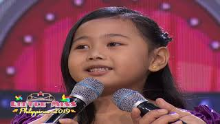 Little Miss Philippines 2019 - Question and Answer | July 11, 2019