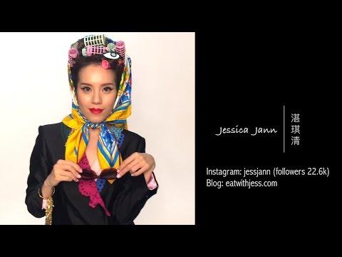 旭茉JESSICA  美女食家Jessica Jann