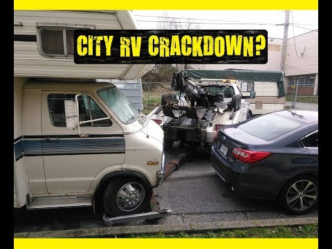 RVs getting TOWED in Vancouver