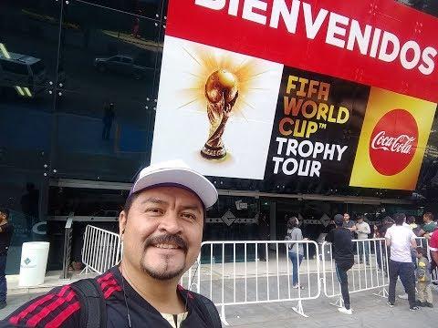 Llegué sin boleto y logré entrar al Fifa Trophy Tour Expo Guadalajara 10 Abril 2018